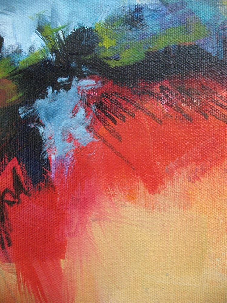 """""""Radiant Red 1"""" original fine art by Karen Hale"""