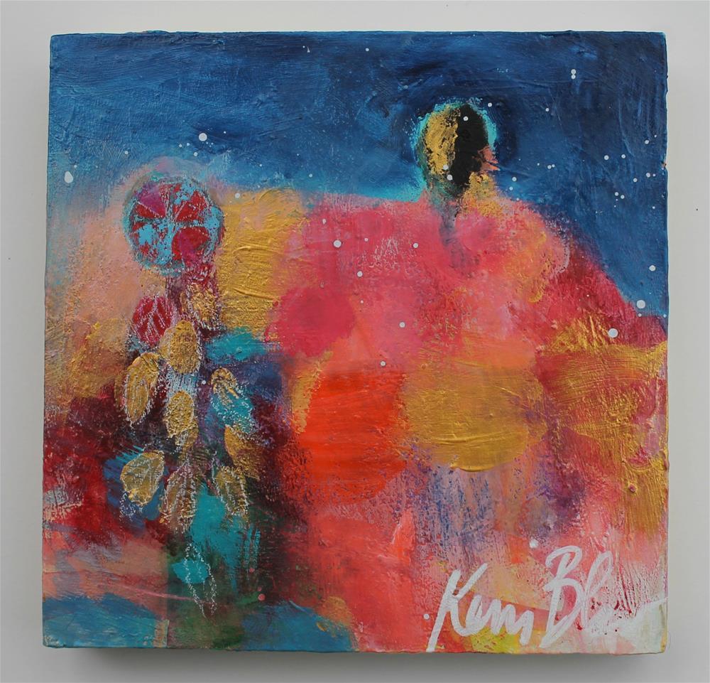 """Wheel Medicine "" original fine art by Kerri Blackman"