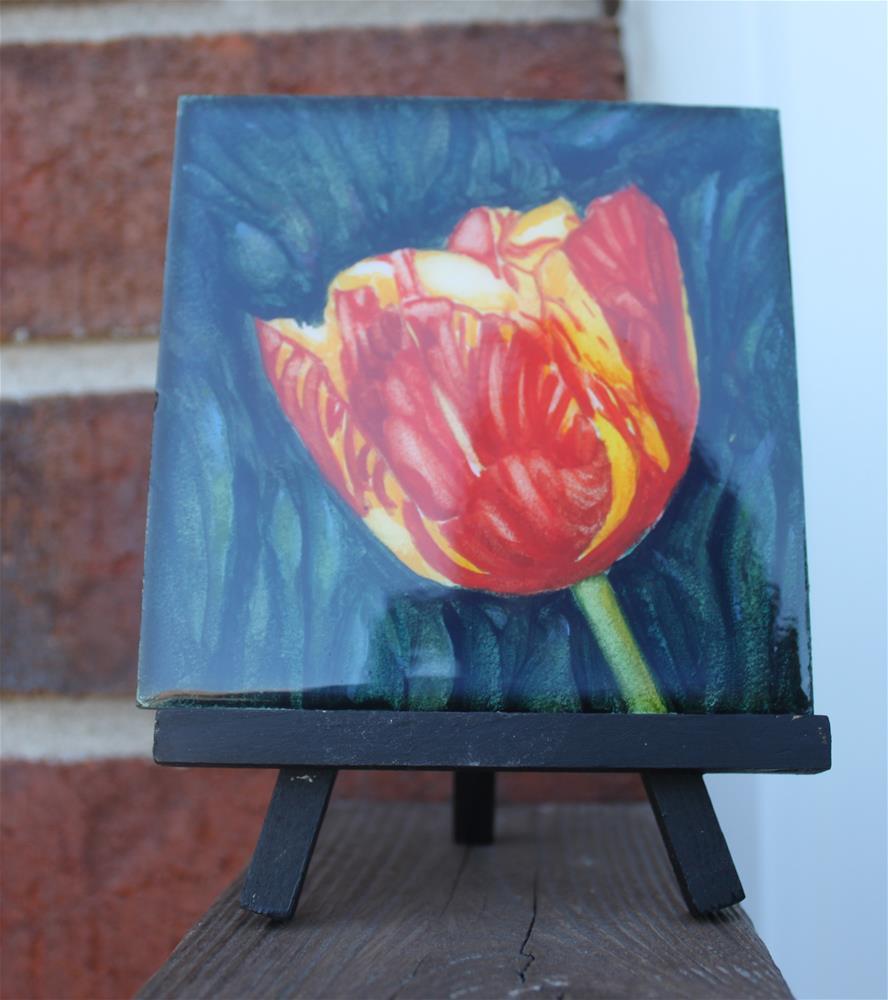 """Spring Beauty Miniature"" original fine art by Christiane Kingsley"