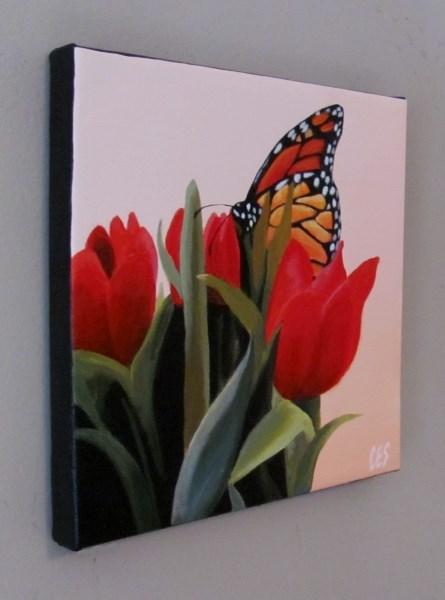 """""""Spring Visitor"""" original fine art by ~ces~ Christine E. S. Code"""