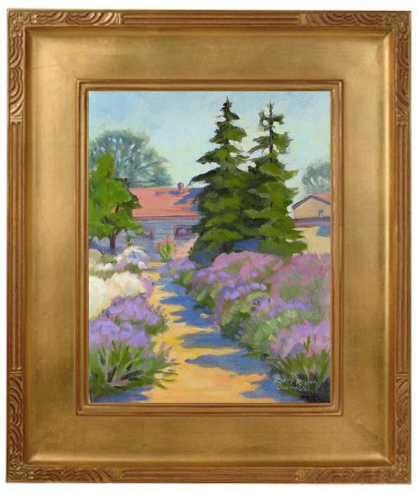 """English Lavender"" original fine art by Rhett Regina Owings"