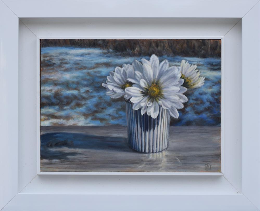 """Winter White"" original fine art by Melissa  Imossi"