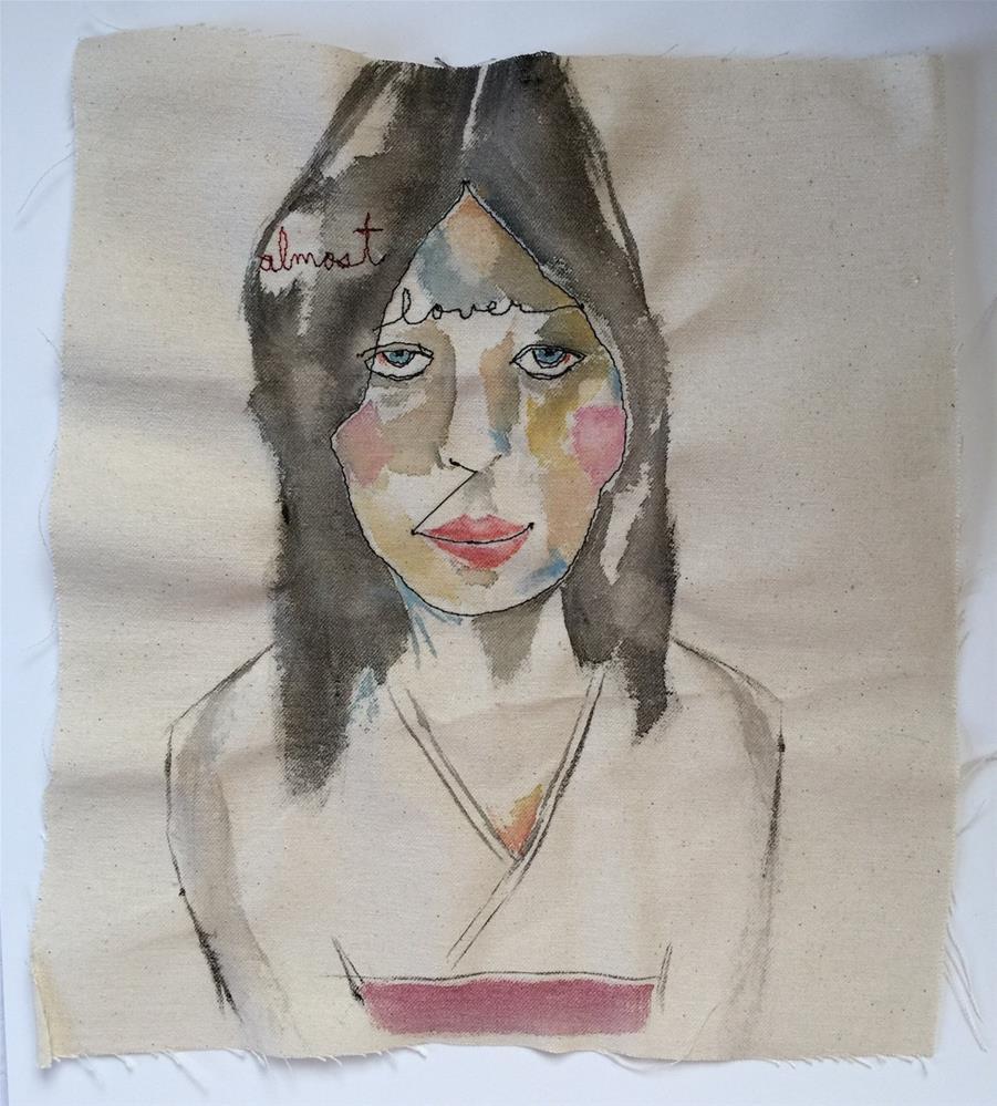 """188 Almost Lover"" original fine art by Jenny Doh"