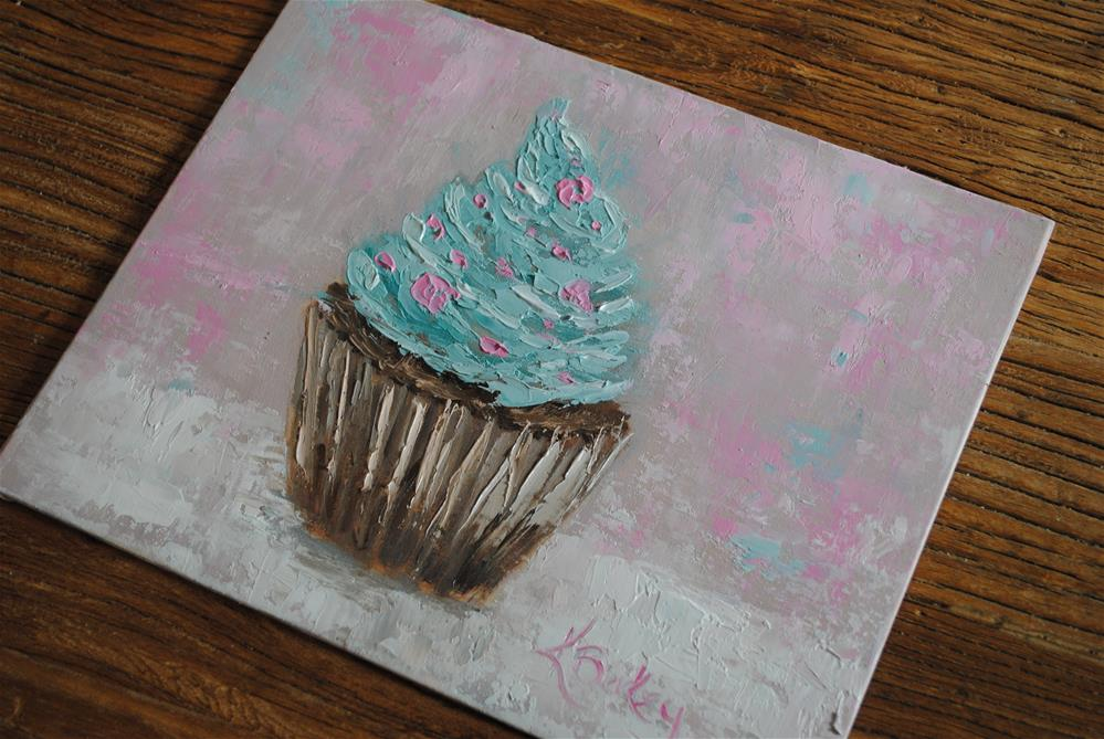 """Frosting Dreams"" original fine art by Kelly Berkey"