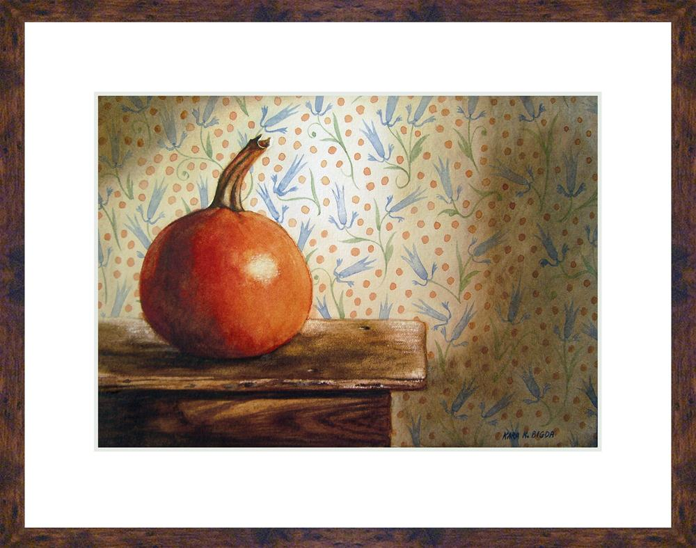 """Autumn Sunlight"" original fine art by Kara K. Bigda"