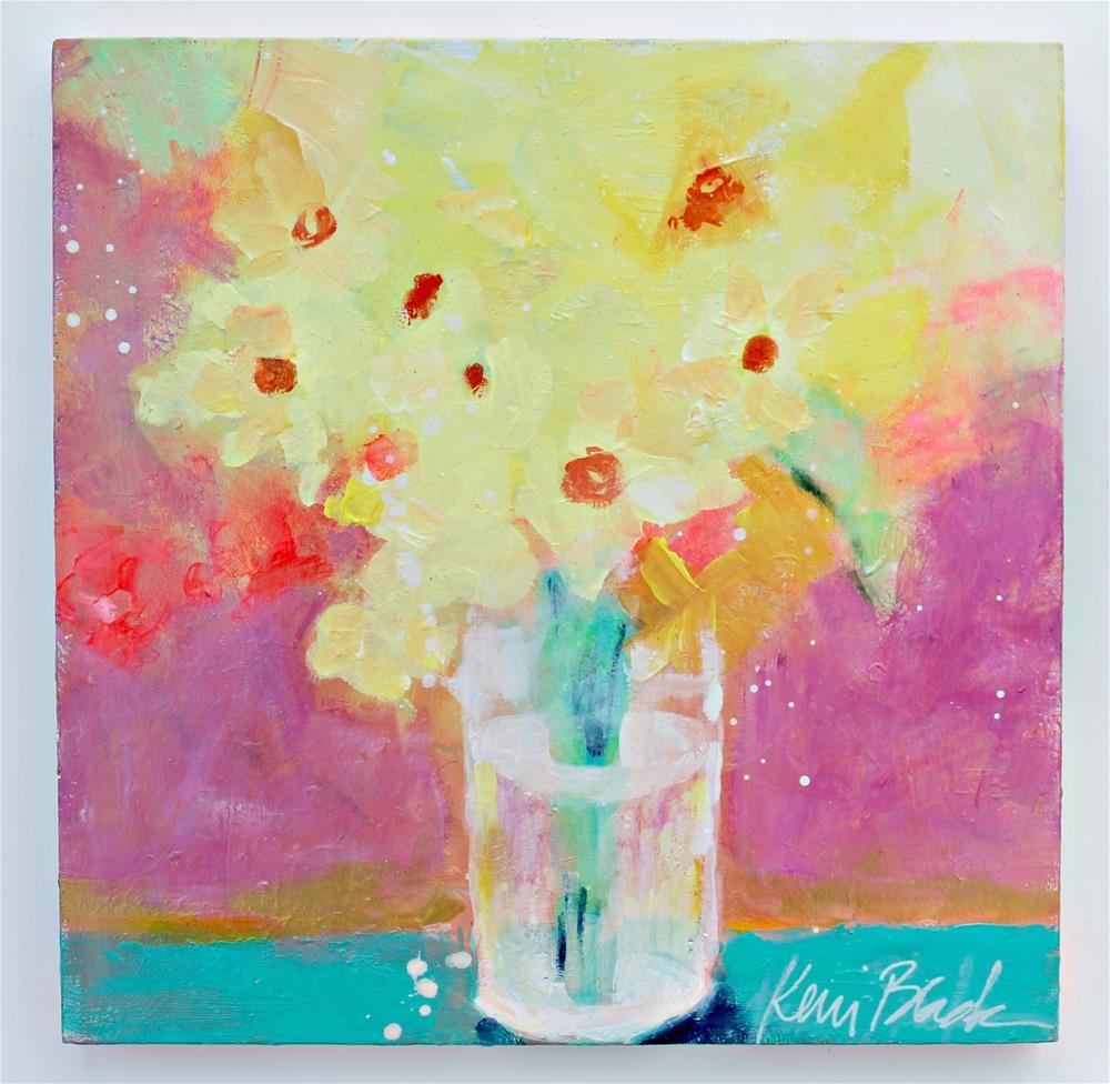 """Sunshine from the Garden "" original fine art by Kerri Blackman"