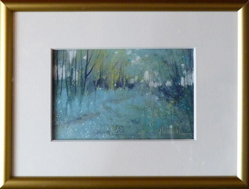 """Aqua Afternoon"" original fine art by Barbara Benedetti Newton"
