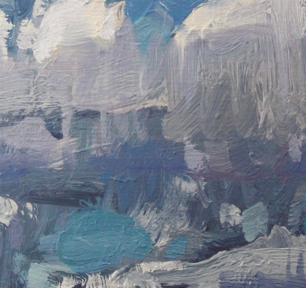 """Cloud Gradations"" original fine art by Cathleen Rehfeld"