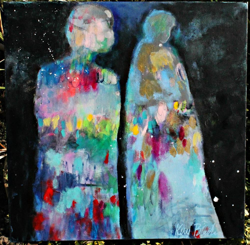 """Night Walkers "" original fine art by Kerri Blackman"