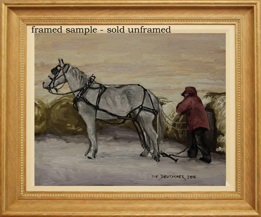 """""""Works for a Living"""" original fine art by Sue Deutscher"""
