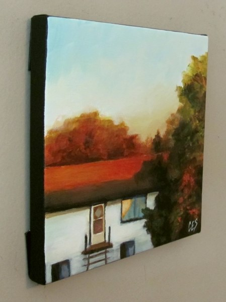 """Across the Street"" original fine art by ~ces~ Christine E. S. Code"