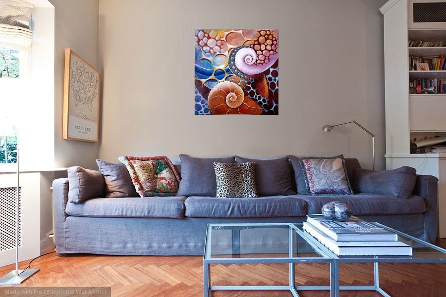 """Deep Sea"" original fine art by Laura B."