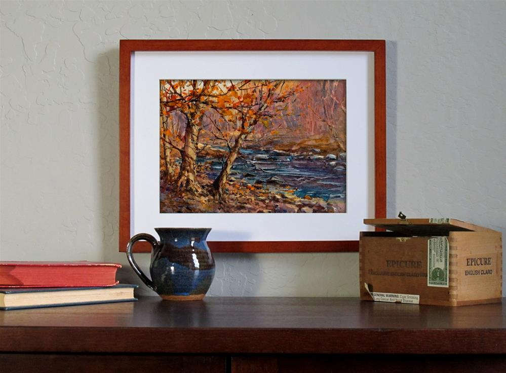 """Late November"" original fine art by Linda Henry"