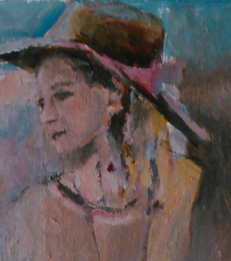 """Pioneer"" original fine art by Ann Rudd"