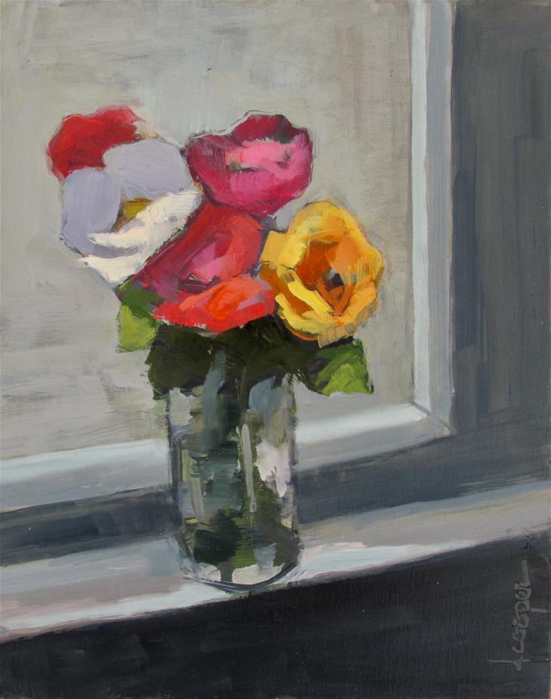 """""""Spring Fever"""" original fine art by Dana Cooper"""