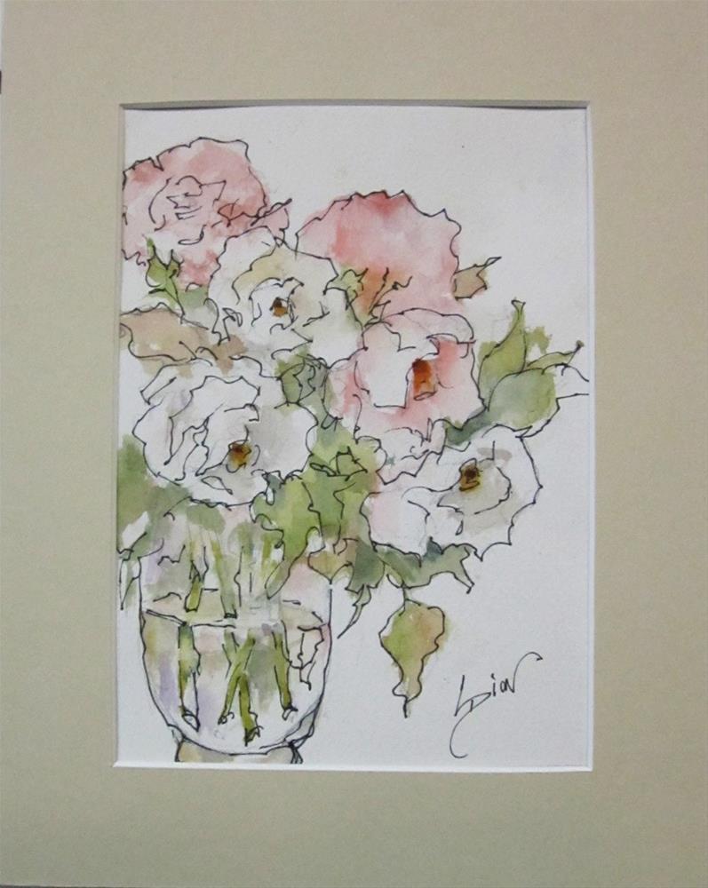 """Innocence"" original fine art by Sue Dion"