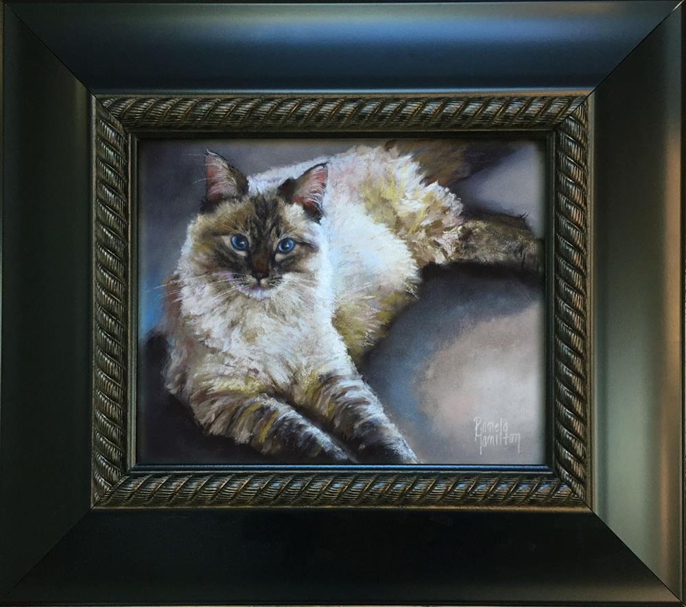 """""""Gizmo"""" original fine art by Pamela Hamilton"""
