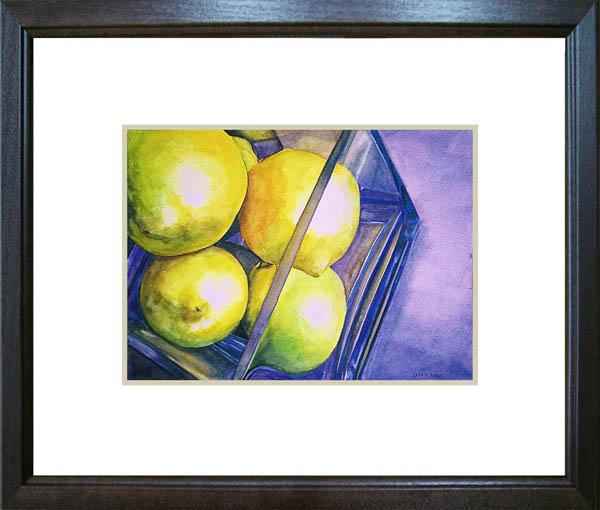 """Easter Lemons"" original fine art by Kara K. Bigda"