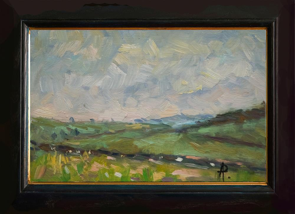 """Sussex Hills"" original fine art by Andre Pallat"