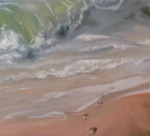 """""""Memories Into The Ocean"""" original fine art by ~ces~ Christine E. S. Code"""