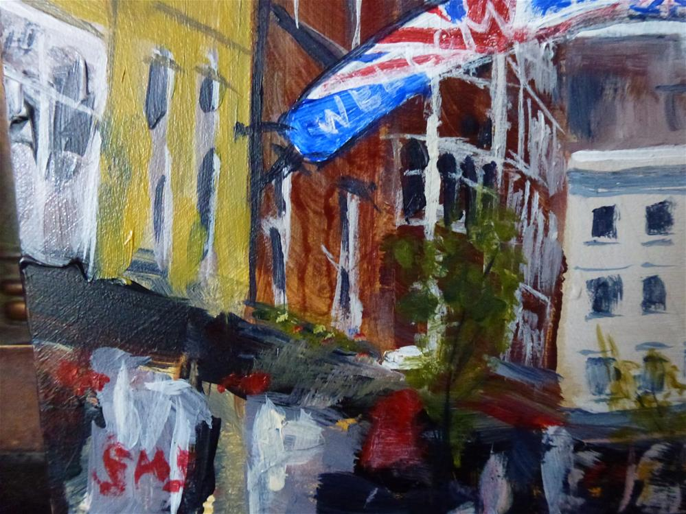 """Carnaby Street"" original fine art by Judith Elder"