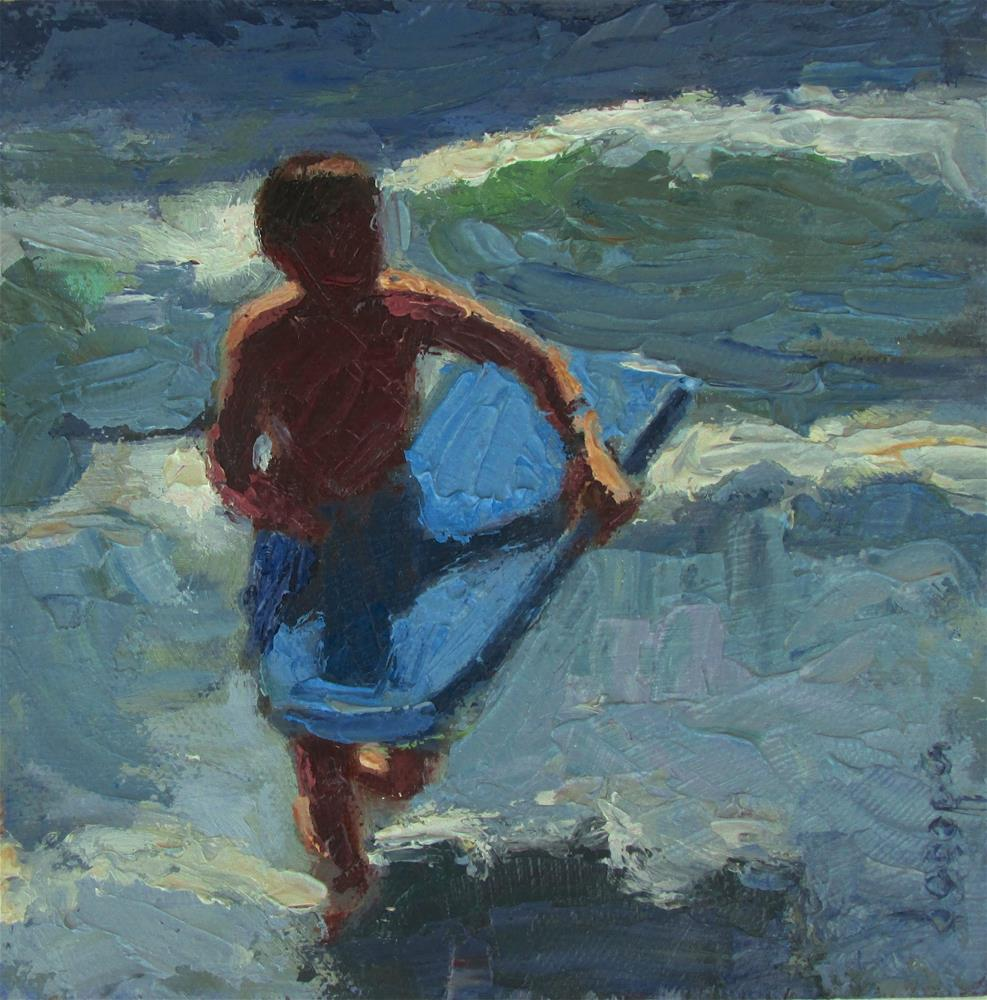 """""""Last Ride"""" original fine art by Dana Cooper"""