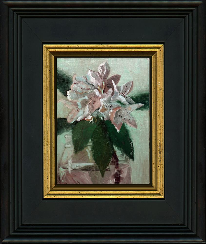 """Rhododendron Portrait"" original fine art by Catherine Twomey"