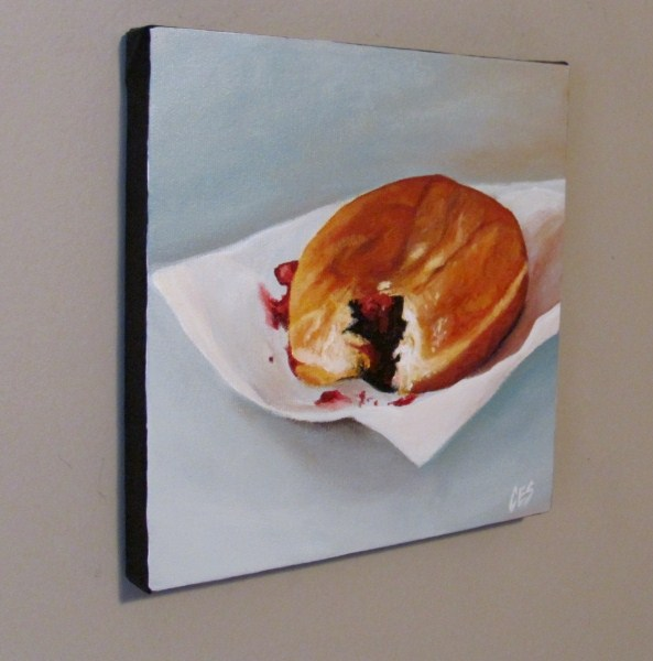 """Jelly Donut"" original fine art by ~ces~ Christine E. S. Code"