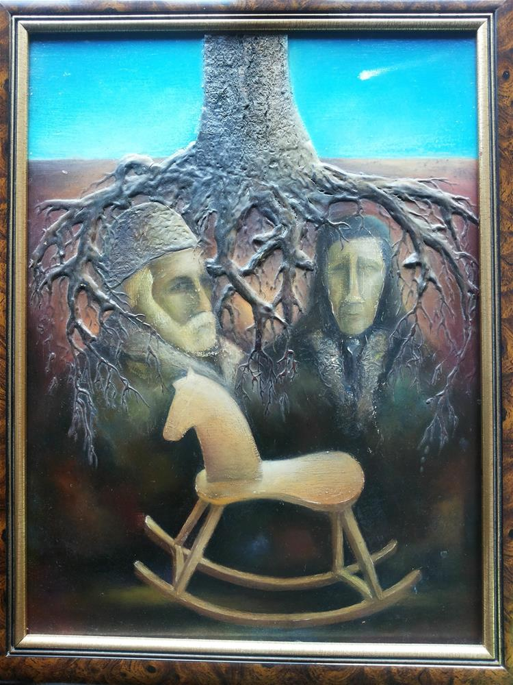 """Memory of Life"" original fine art by Mitko Dimitroff"