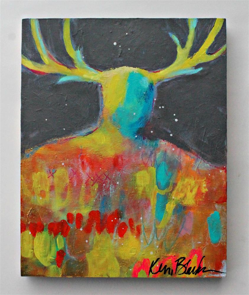 """Strength"" original fine art by Kerri Blackman"