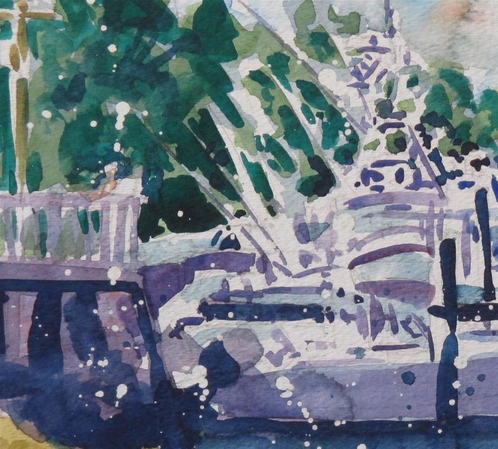 """Translucent Marina by Larry Lerew 160702"" original fine art by Larry Lerew"