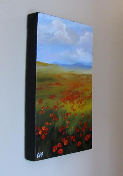"""Poppy Fields"" original fine art by ~ces~ Christine E. S. Code"