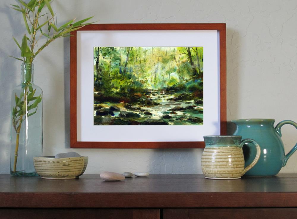 """Spring Song"" original fine art by Linda Henry"