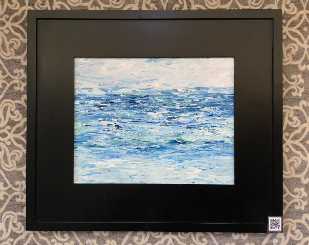 """6023 - Ocean Blue"" original fine art by Sea Dean"