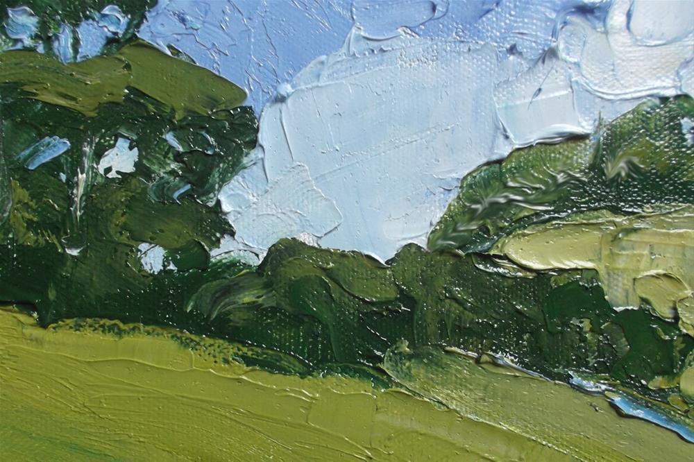 """""""Californa Santa Maria Hills"""" original fine art by lynne french"""