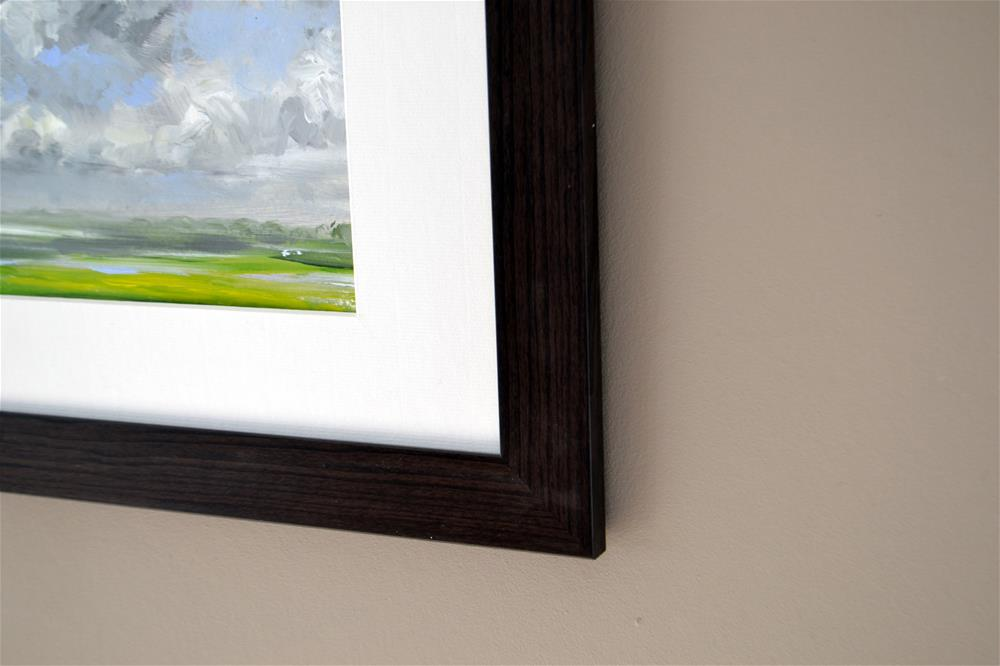 """Clouds scenery in the polder"" original fine art by Wim Van De Wege"