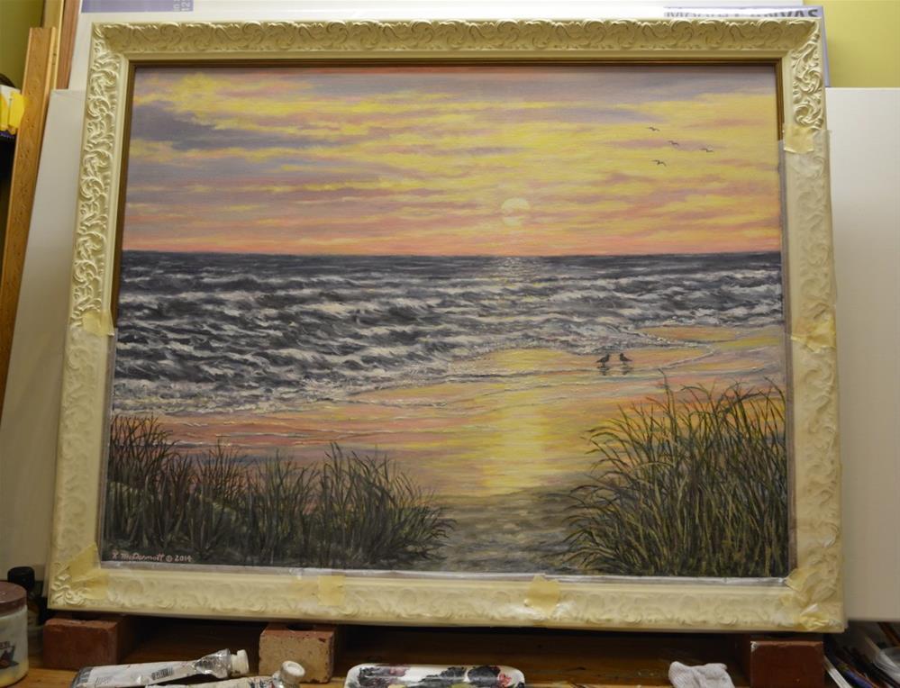 """Beach Razzle Dazzle"" original fine art by Kathleen McDermott"