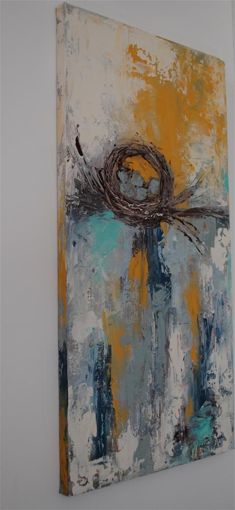 """Sunny Side Nest"" original fine art by Kelly Berkey"