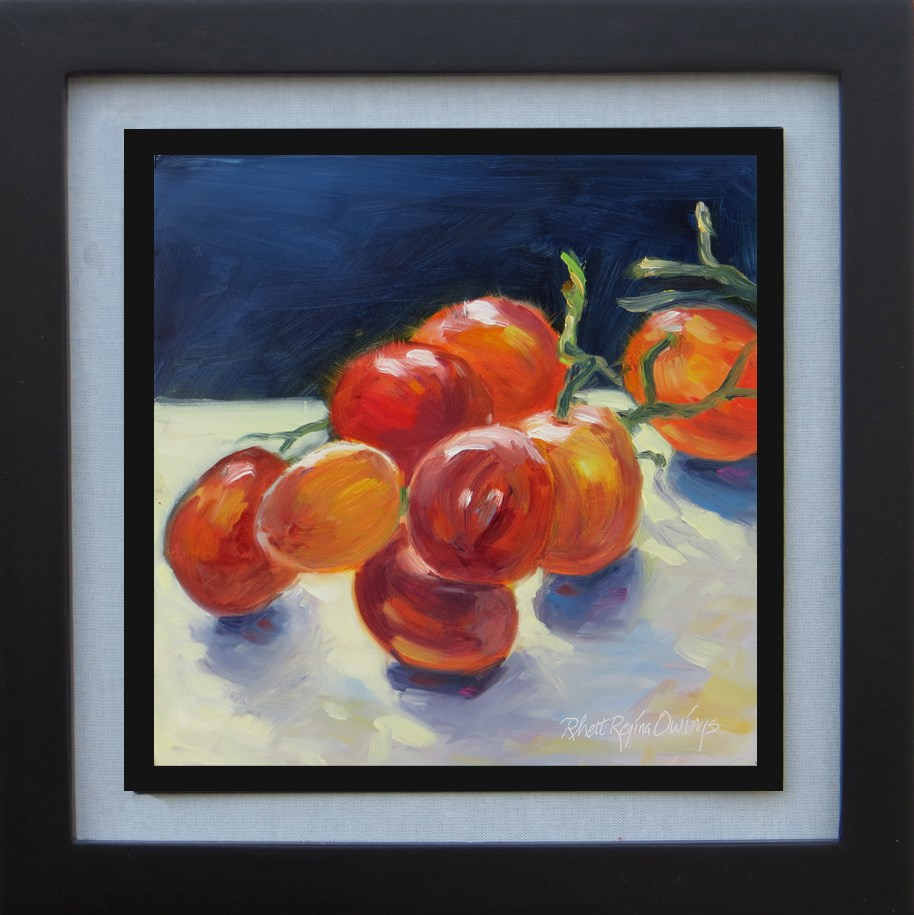"""Seedless Grapes"" original fine art by Rhett Regina Owings"