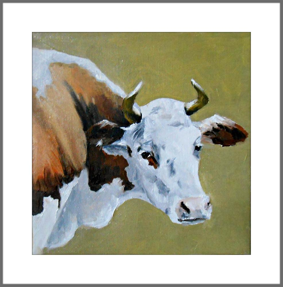 """The Milk Cow"" original fine art by Laura B."