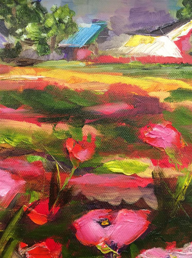 """Summer at the Ranch"" original fine art by Molly Rohrscheib Hathaway"