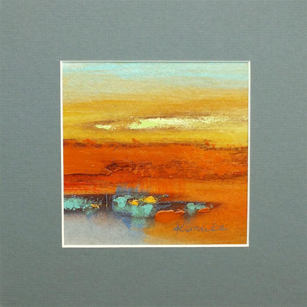 """Landscape 291"" original fine art by Ewa Kunicka"