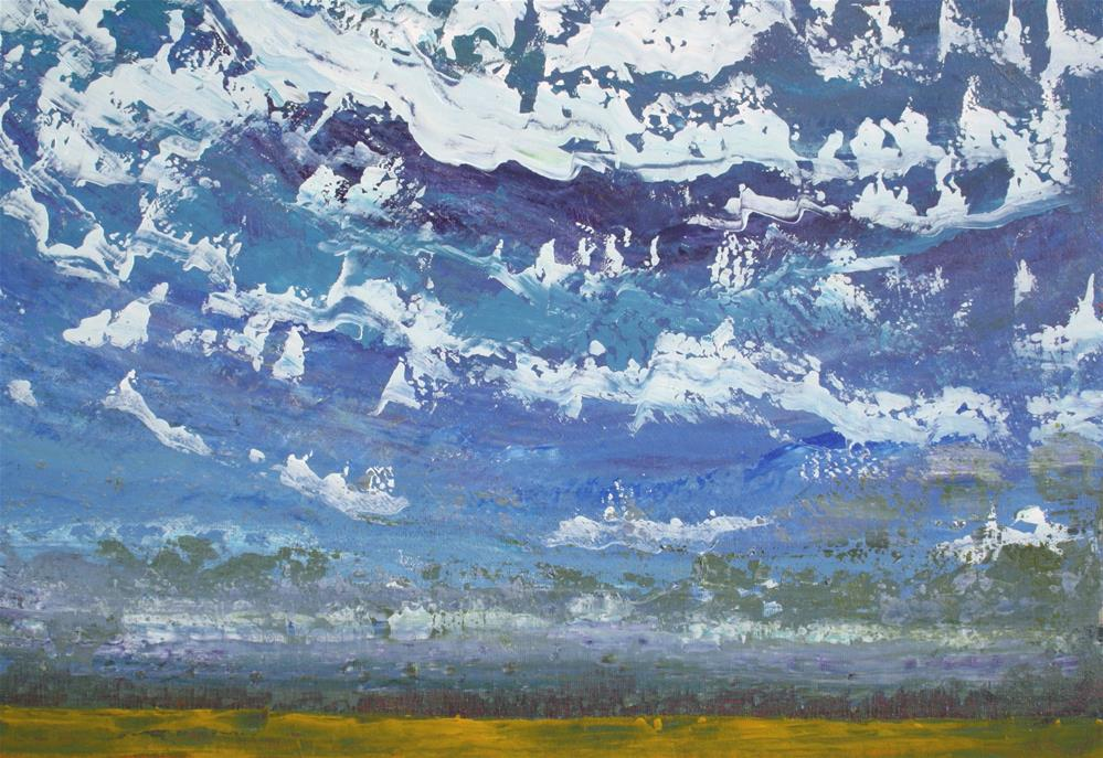 """The Sweeping Sky"" original fine art by Sage Mountain"