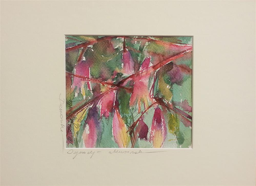 """Bells 3"" original fine art by Marlena Czajkowska"