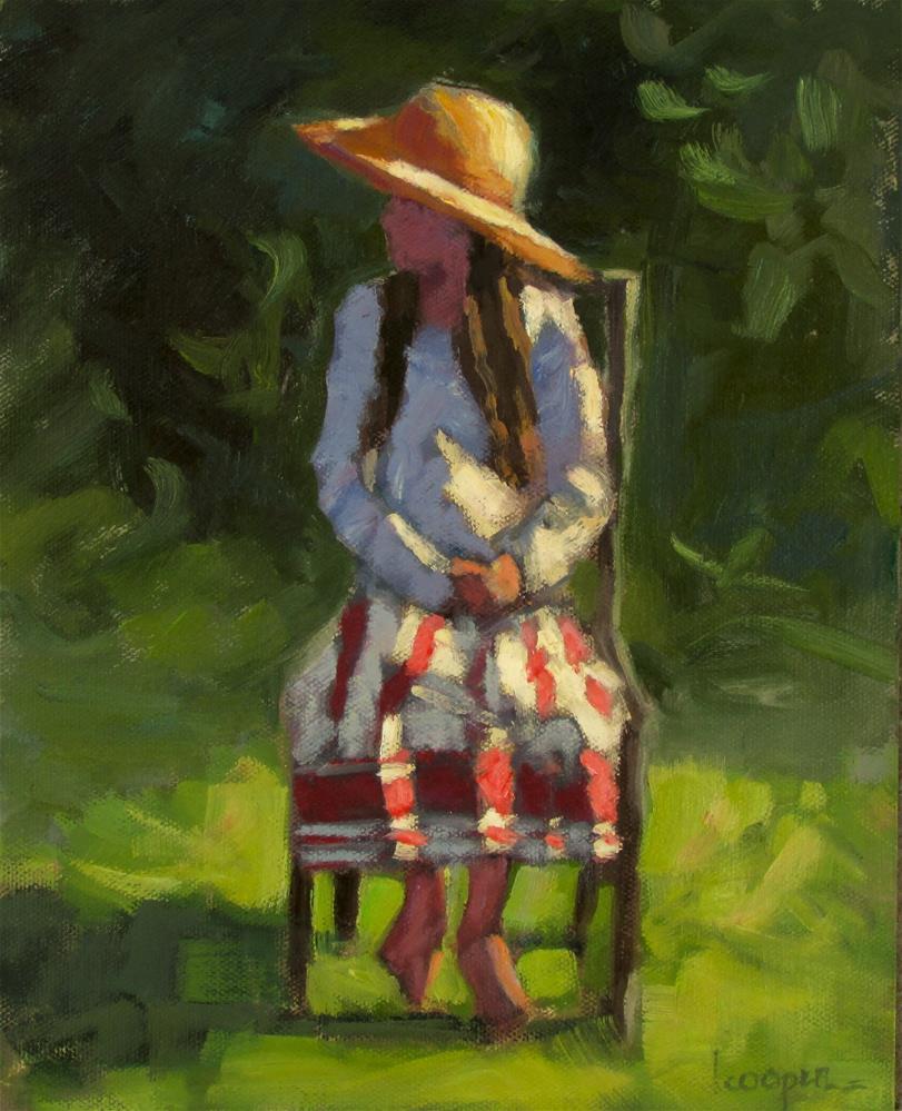 """""""Sunlit Brittany"""" original fine art by Dana Cooper"""