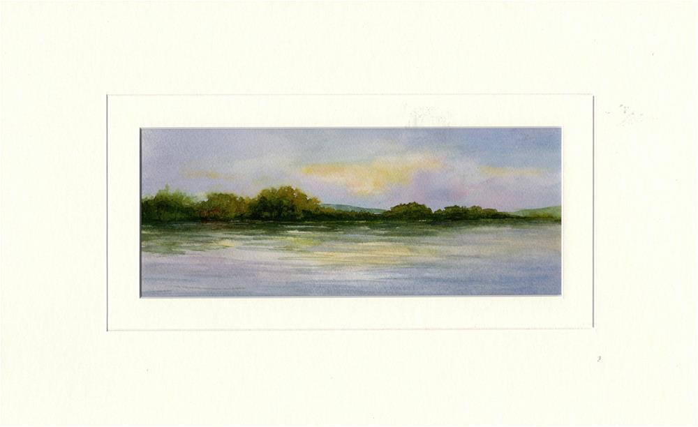 """Morning Light II"" original fine art by Vikki Bouffard"