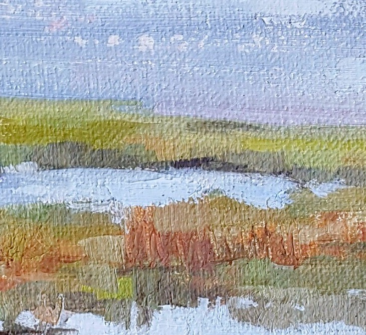 """""""Back Bay View"""" original fine art by Cindy Carrillo"""
