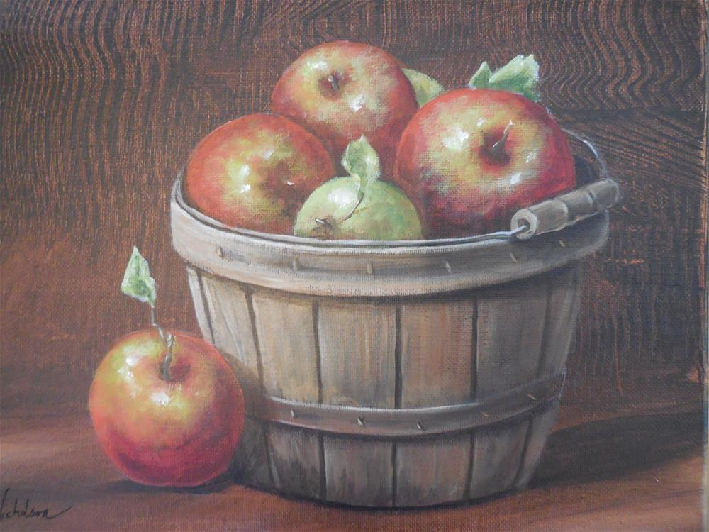 """Fall Harvest"" original fine art by Terri Nicholson"