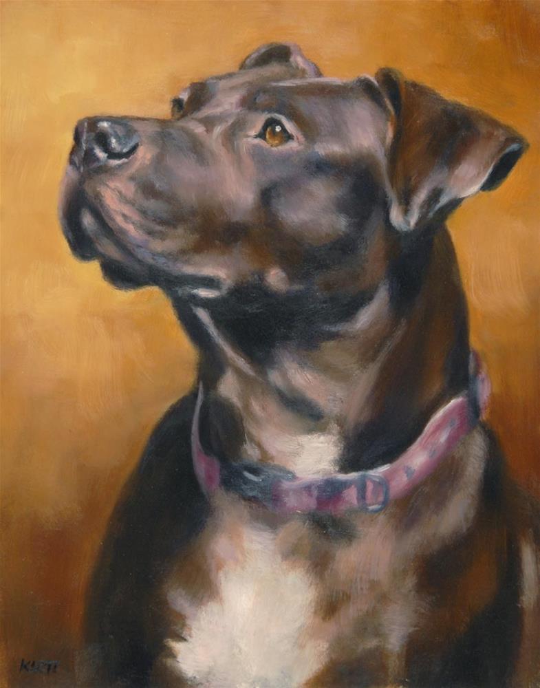 """Cora"" original fine art by Tracy Klett"