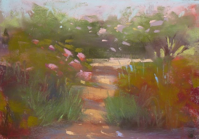 """How about a Double Header Pastel Workshop?"" original fine art by Karen Margulis"